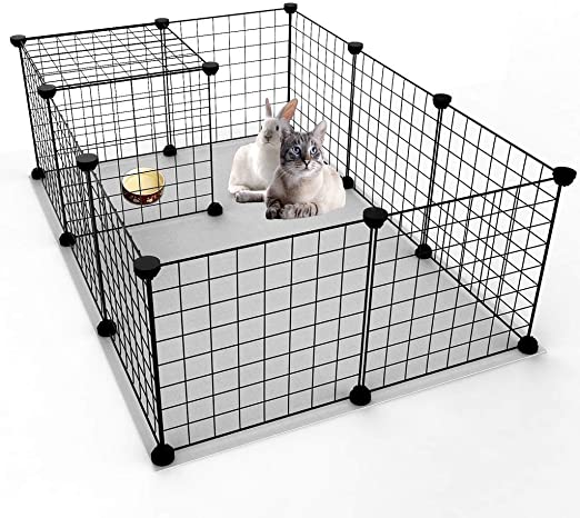 fbartl - Caja Plegable para Mascotas, Perros, Jaula de Juego, Valla para Cachorro, caseta de Entrenamiento para casa, Jaula para Cachorro, Gatito, Espacio para Perros: Amazon.es: Productos para mascotas