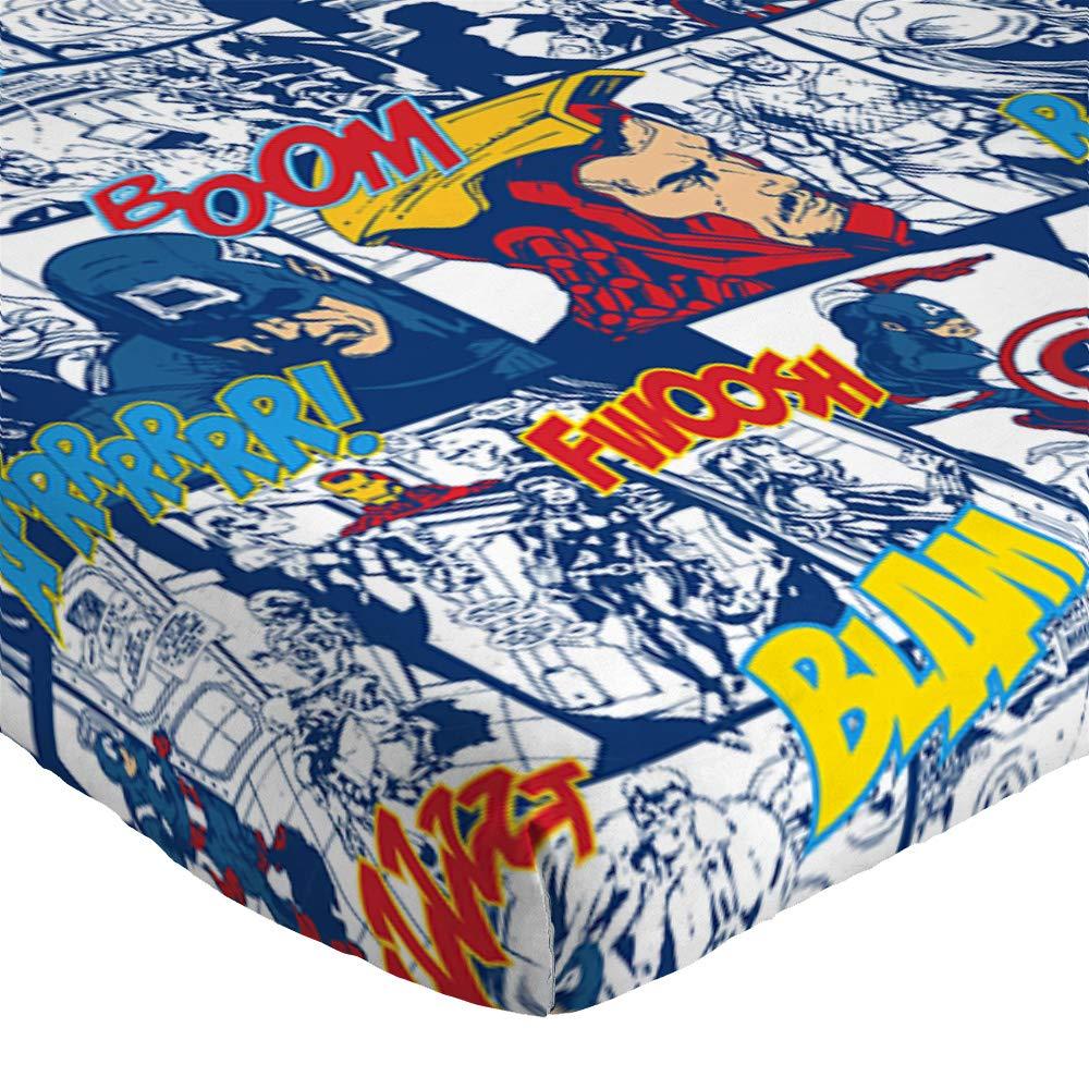 Jay Franco Marvel Avengers Publish 3 Piece Twin Sheet Set, by Jay Franco (Image #3)