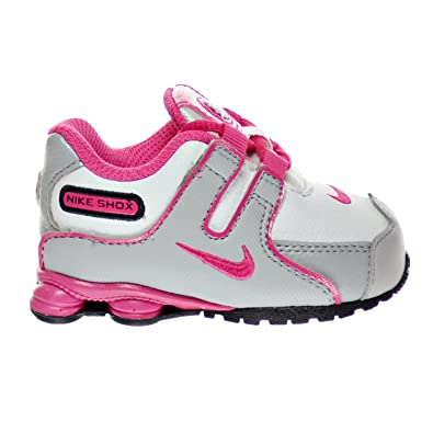 shopping nike shox nz sms baby toddlers shoes white vivid pink black wolf  grey 488311 a039f 0ec73f78a