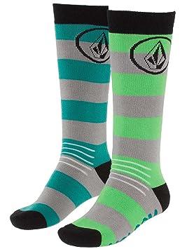 Volcom Soul Tech Socks - Calcetines para mujer, niña, color azul - verde, tamaño XSS: Amazon.es: Deportes y aire libre