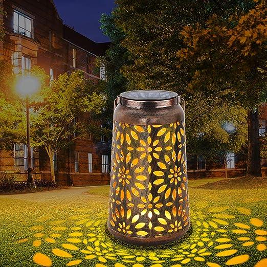Luz de linterna solar para decoraciones - linternas solares Deaunbr para jardín, luces colgantes de lámpara LED