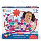 Learning Resources LER9162-P Gears! Gears! Gears! Deluxe Building Set, Pink (100 Piece)