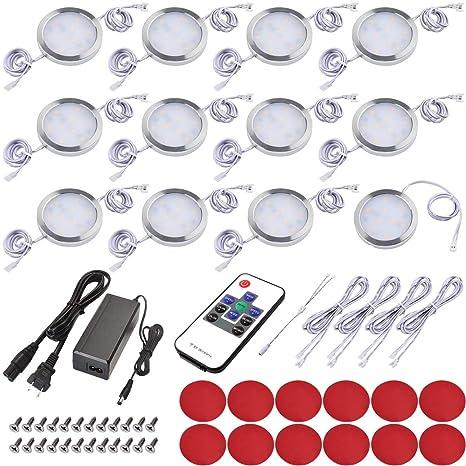 Amazon.com: Kit de iluminación LED para debajo del gabinete ...