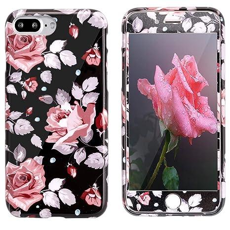 coque iphone 8 plus avec des fleurs