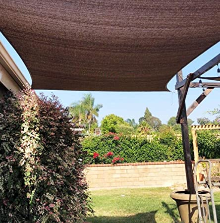 YGUOZ 95% Pesado Vela De Sombra, Robusto Grueso Malla sombreo toldo, Transpirable Toldo, para Plantas, Pérgola, Pérgola,Blue_2x1m(7x3ft): Amazon.es: Hogar