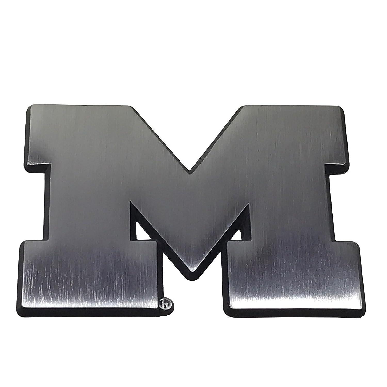Virginia Tech AMG Auto Emblems New Brushed Matte Style NCAA Collegiate Metal Auto Emblem