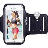 Fascia da braccio per iPhone 6/6S, regolabile, compatibile con iPhone 6/6S [4,7pollici], per sport, running, jogging, palestra, ciclismo, escursionismo, equitazione–con cinghia riflettente + portachiavi