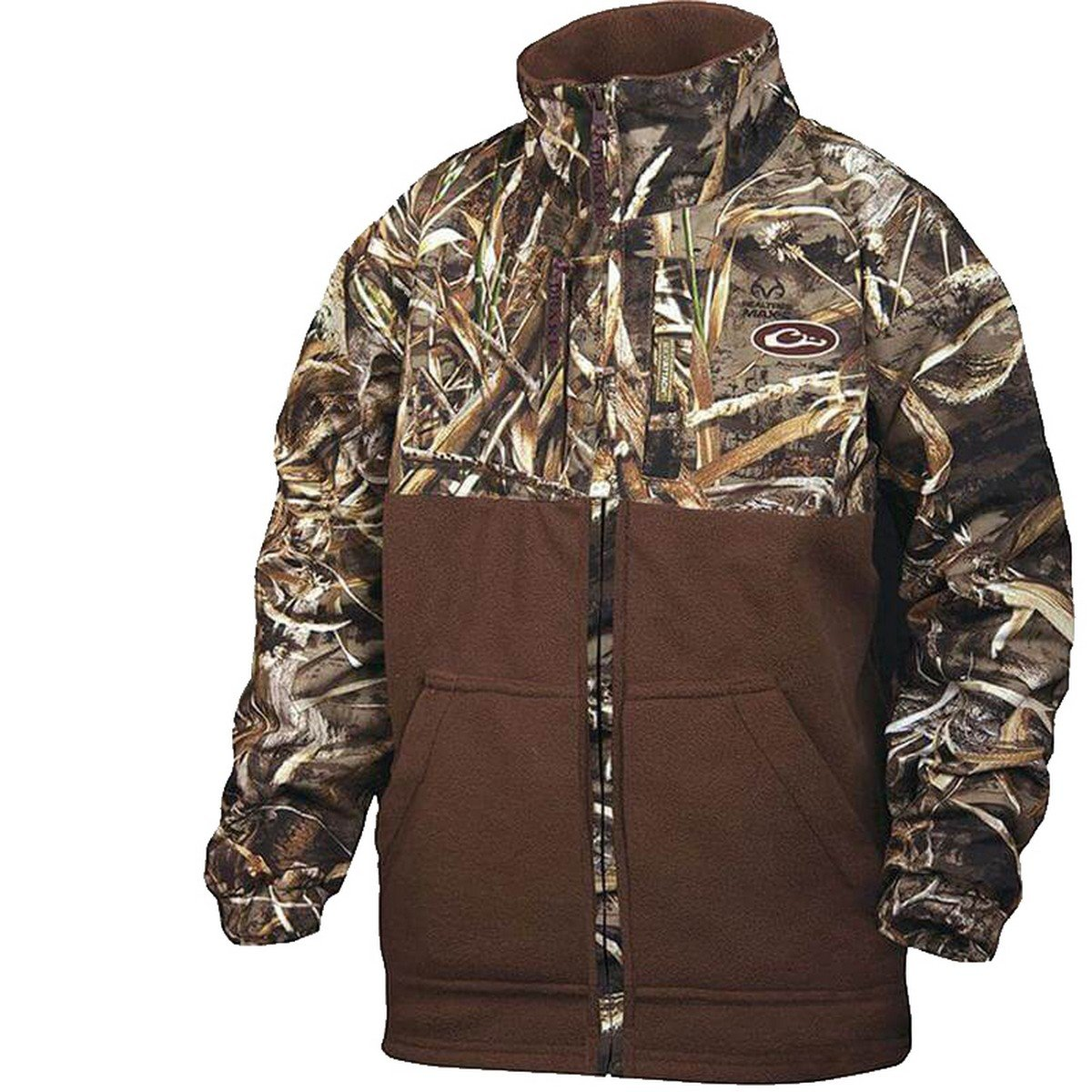 Drake Youth MST Eqwader Full Zip Realtree Max-5 8 by Drake