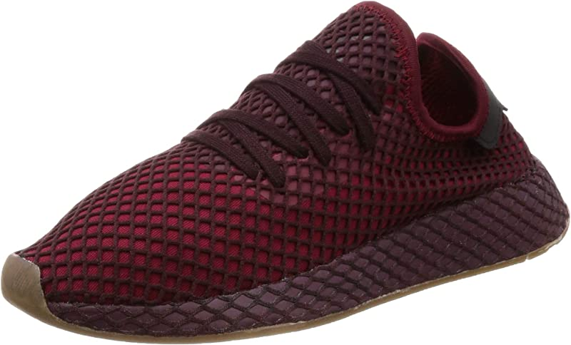 adidas Deerupt Runner Sneakers Fitnessschuhe Unisex Burgunderrot Größe 36 bis 47 1/3