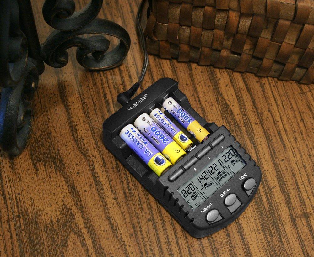 La Crosse Technology BC700-CBP Alpha Power Battery Charger