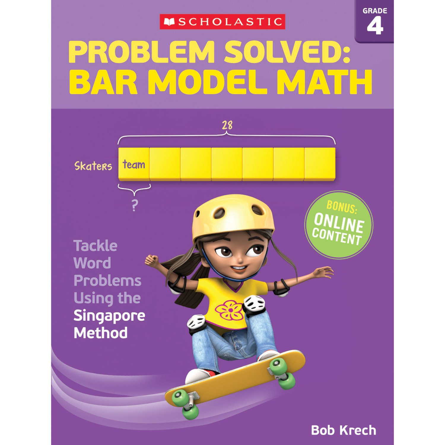 Amazon.com: Problem Solved: Bar Model Math Grade 4: Tackle Word ...