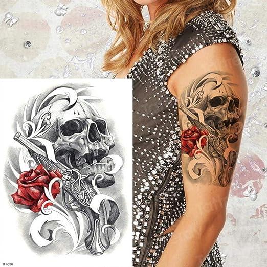 3pcsTatuaje Femenino Brazo Trasero Manga Tatuaje diseño Hombres ...