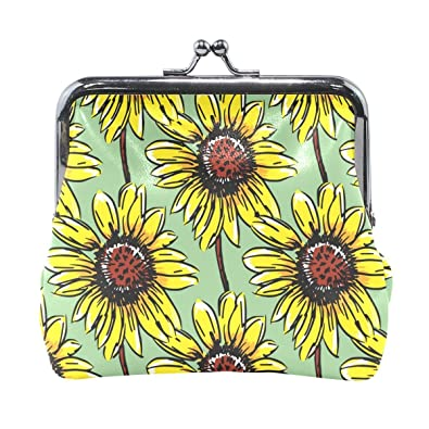 Amazon.com: Sunflower - Monedero con diseño de flores ...