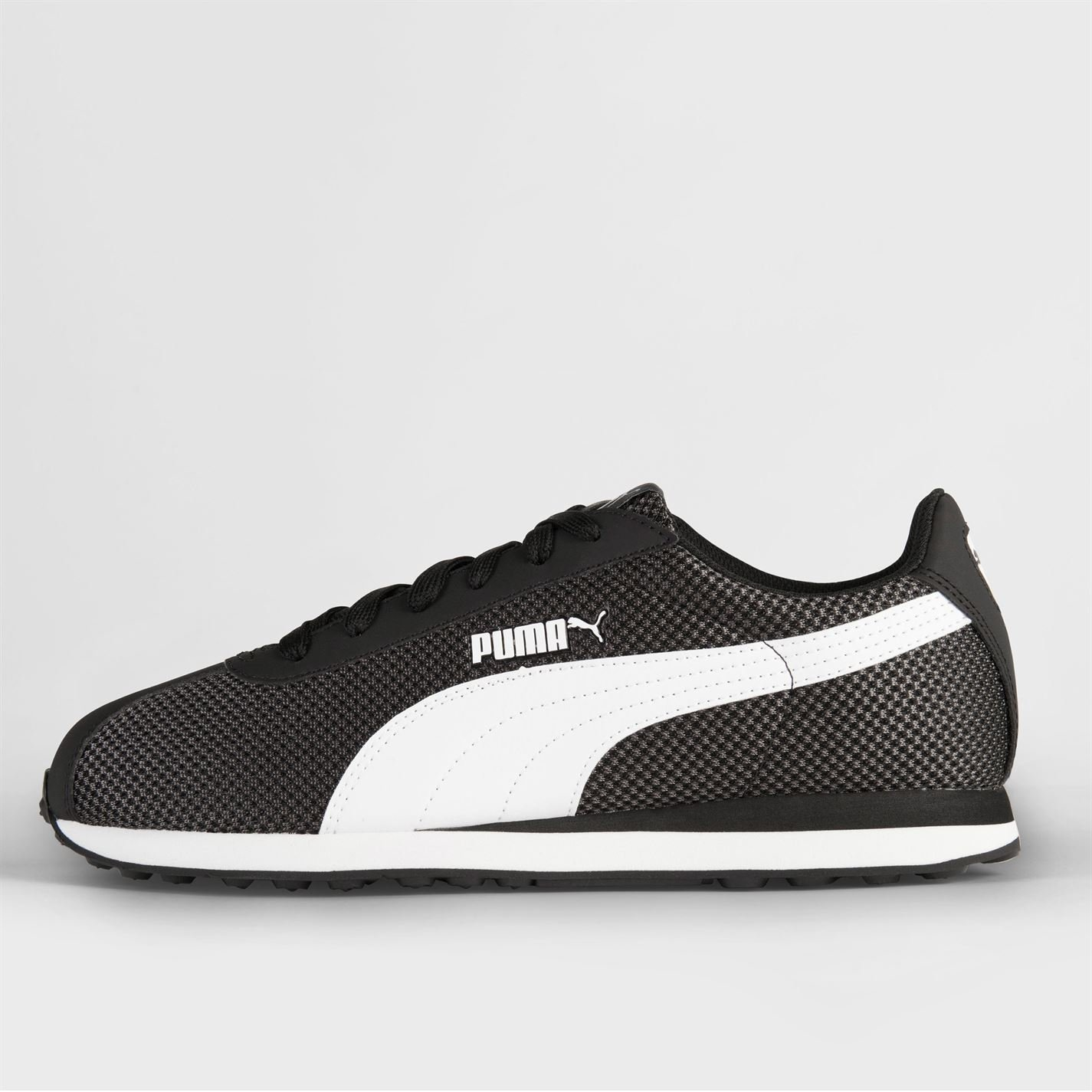 25bb614b19b Puma Turin Mesh Trainers Mens Black/White Athletic Sneakers Shoes:  Amazon.co.uk: Sports & Outdoors