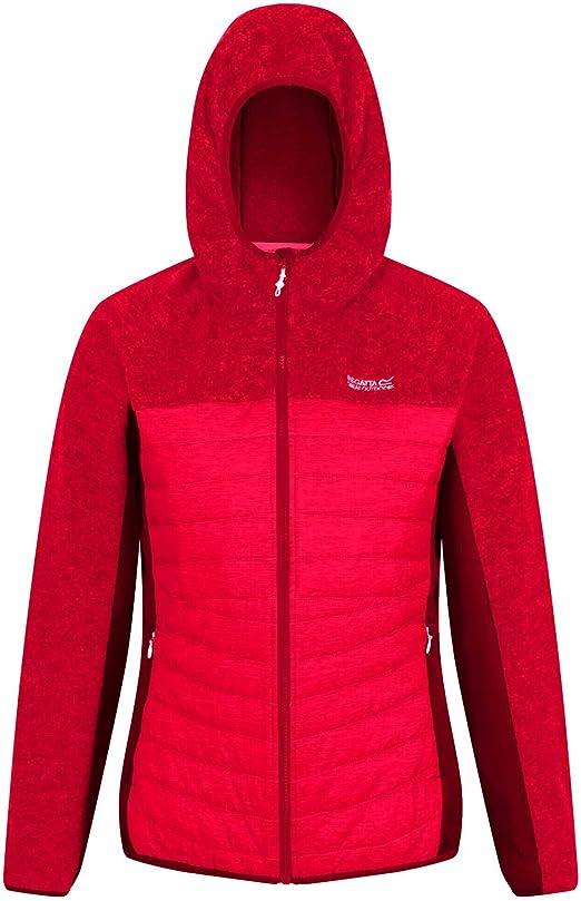 Regatta PEMBLE II Womens Lightweight Insulated Hybrid Softshell Jacket with Stretch Fleece