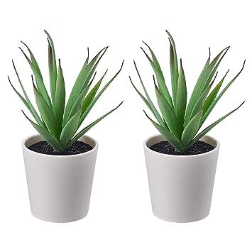 Ikea Fejka Mini Artificielles Pour Bureau Plantes En Pots 6