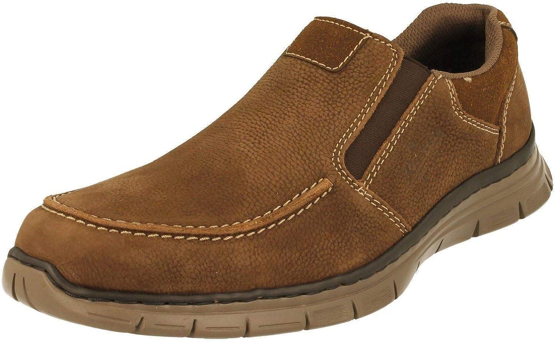 Rieker Sandales confort brun style décontracté