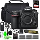 Nikon D850 DSLR Digital Camera Body Only (1585) USA Model Bundle with SanDisk 64GB Extreme PRO SD Card + (2) Extra Compatible