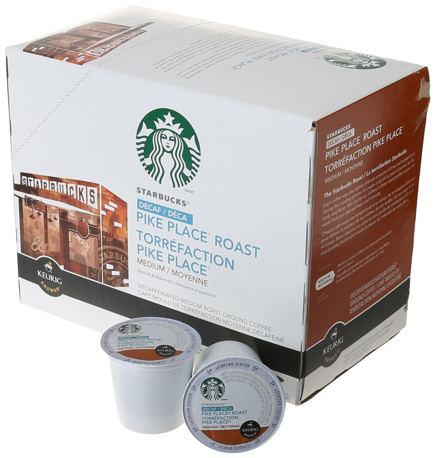 Starbucks Decaf Pike Place Roast K Cups, 24 Count (Pack of 2) by Starbucks (Image #2)
