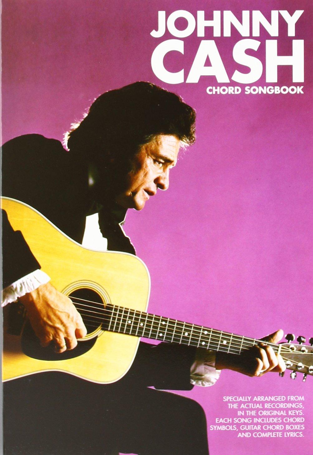 Johnny Cash Chord Songbook Johnny Cash 9780711926271 Amazon