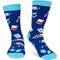 Lavley Medical Themed Socks for Nurses, Doctors, Hospital Workers and Students - Unisex for Women and Men