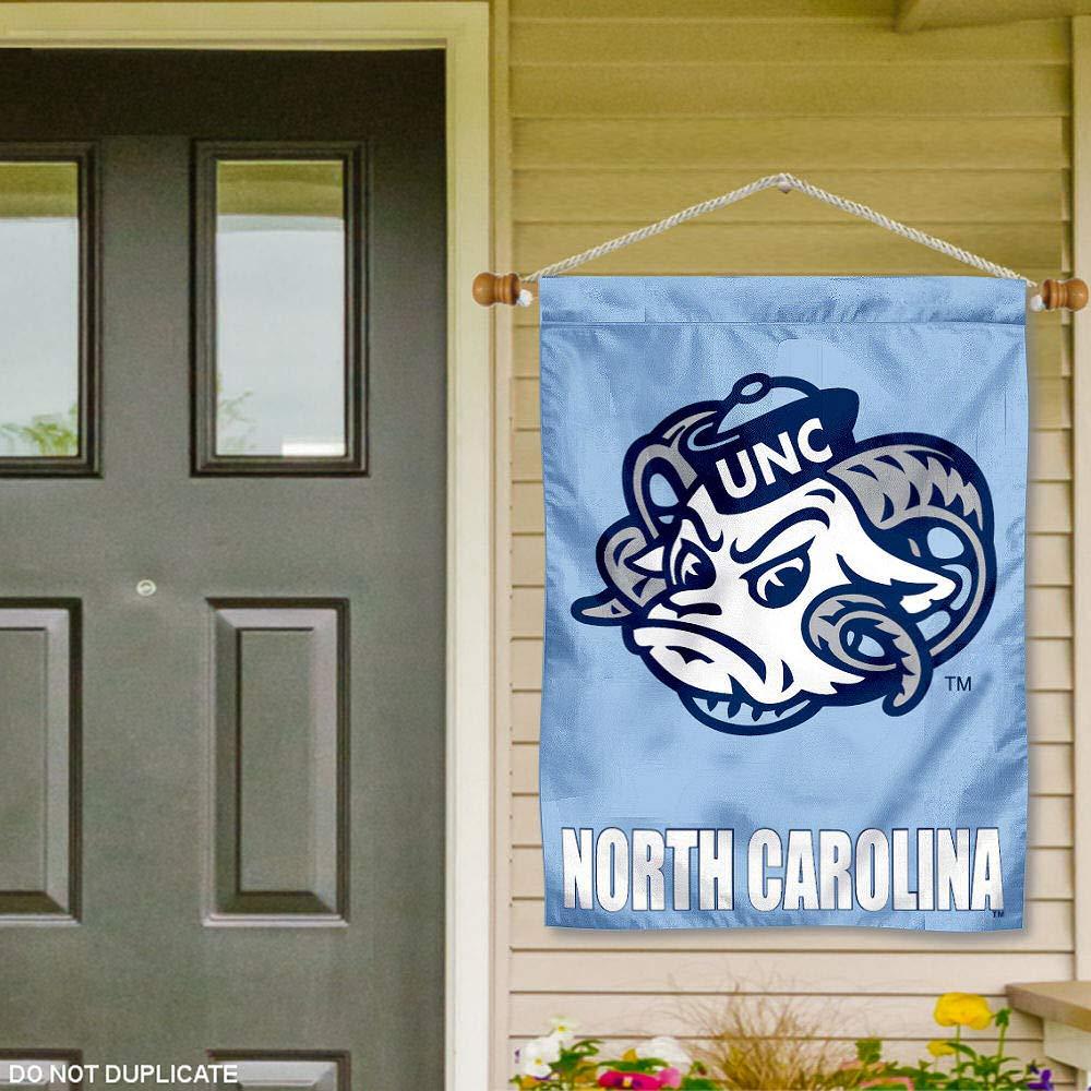North Carolina Tar Heels Banner with Hanging Pole
