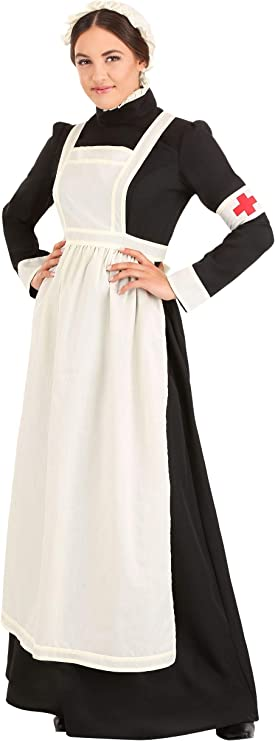 1900s, 1910s, WW1, Titanic Costumes Womens Florence Nightingale Costume $49.99 AT vintagedancer.com