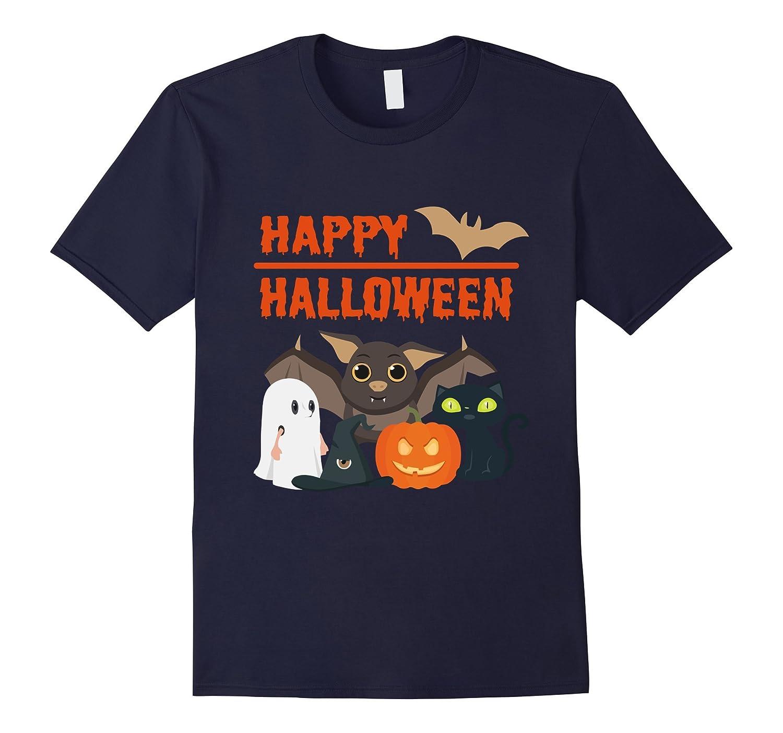 HAPPY HALLOWEEN T-shirt-CL