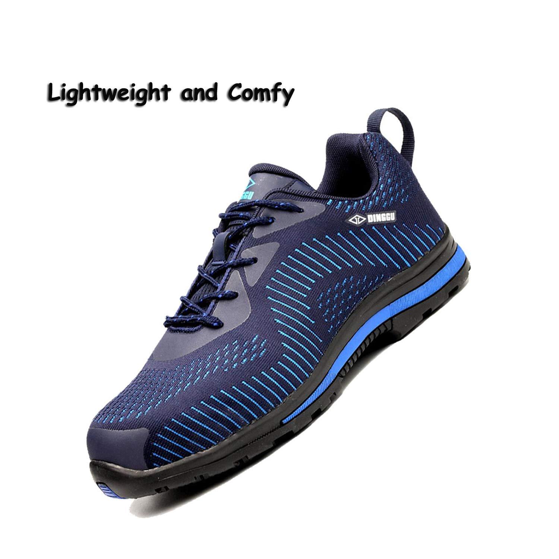 2de352d89d60 Amazon.com: SUADEX Steel Toe Shoes Men Women, Work Safety Shoes ...