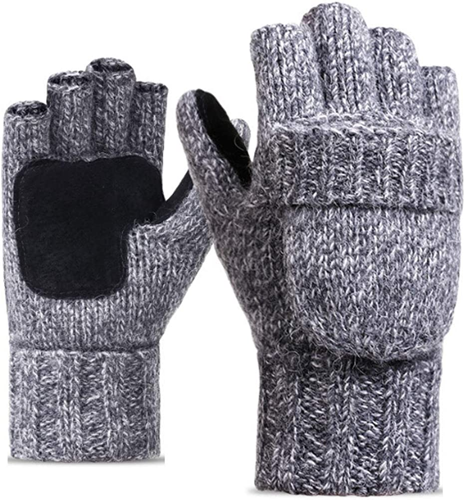 Winter Knitted Fingerless...