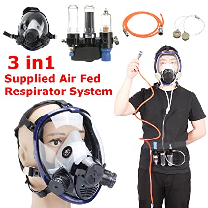 Safety Painting Spray Supplied Air Fed Respirator System 6800 Full