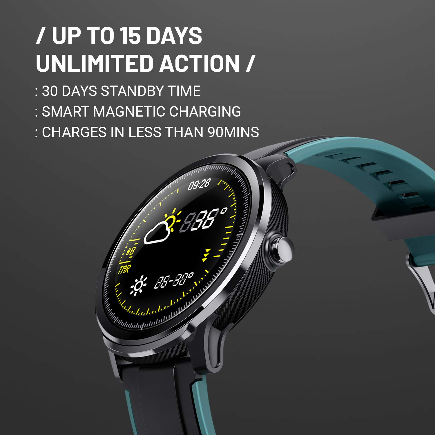 Full details about CrossBeats Ace Smart Watch 2020 Full Touch
