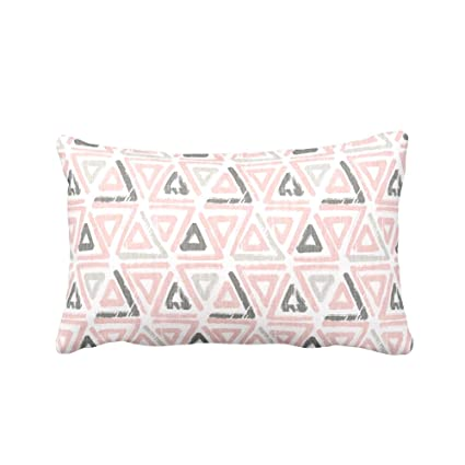 Amazon.com CELYCASY Blush Pink Pillow Cover Light Pink