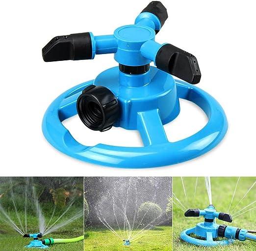 360° Rotation Arroseur de Pelouse Automatique Eau Arrosage Irrigation Jardin