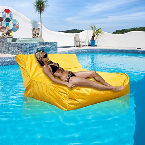 Fine Amazon Com Floating Bean Bag Cover Waterproof Swimming Pool Caraccident5 Cool Chair Designs And Ideas Caraccident5Info