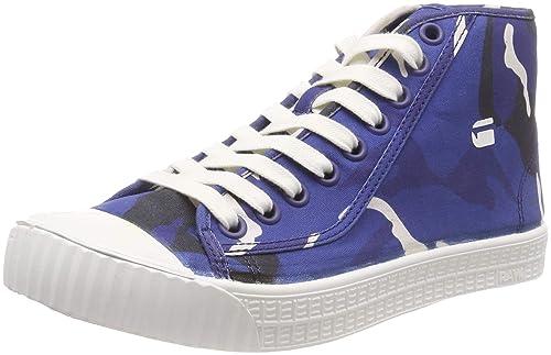 G-STAR RAW Rovulc Mid AOP, Zapatillas Altas para Hombre: Amazon.es: Zapatos y complementos