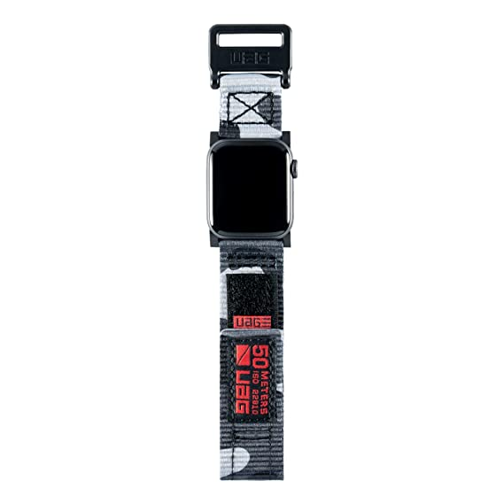 huge discount 3c233 4aad8 UAG Compatible Apple Watch Band 44mm 42mm, Series 4/3/2/1, Active Midnight  Camo by URBAN ARMOR GEAR