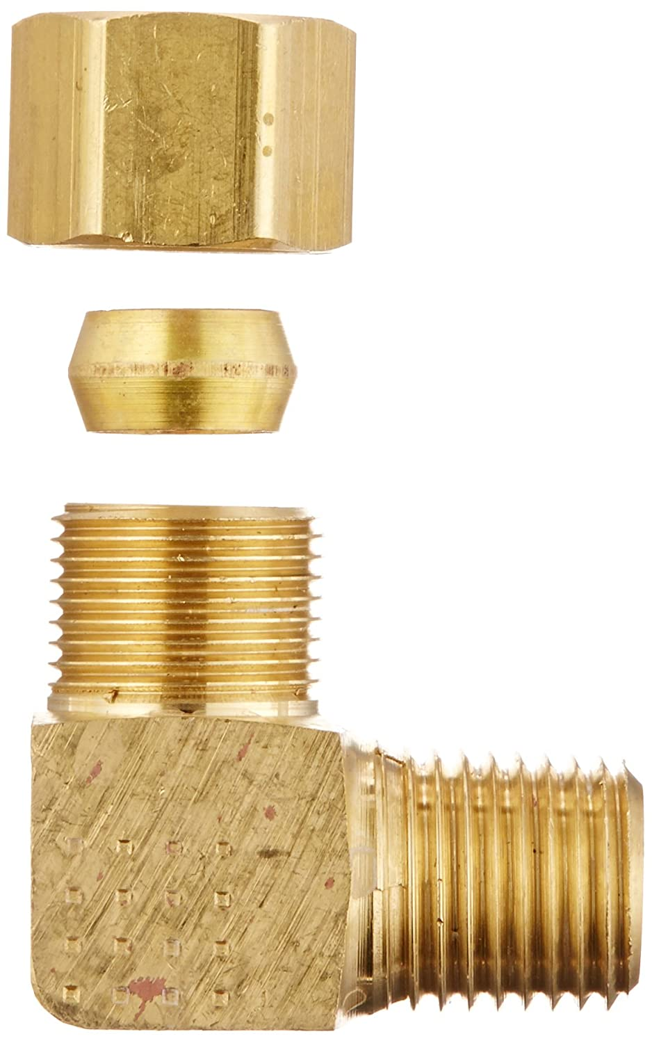 EATON Weatherhead 69X6 Male Elbow 3//8 Tube OD 1//4 Male Pipe Size 1//4 Male Pipe Size CA360 Brass Eaton Products Pack of 10 3//8 Tube OD Pack of 10