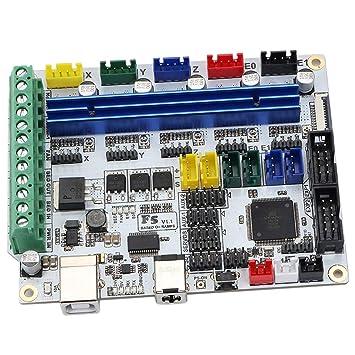 IPOTCH Tablero Principal de Impresora 3D con Cable Puerto Interfaz ...