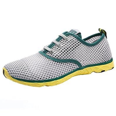 3b20662dec ALEADER Men's Quick Drying Aqua Water Shoes: Amazon.co.uk: Shoes & Bags