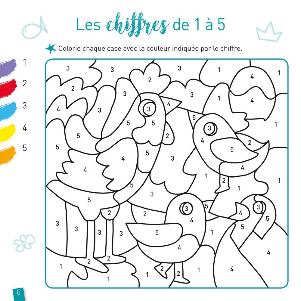 Amazon Fr Coloriages Magiques Les Animaux Ms Doutremepuich