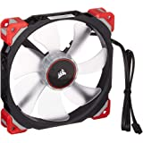 Corsair ML140 Pro LED, Red, 140mm Premium Magnetic Levitation Cooling Fan CO-9050047-WW