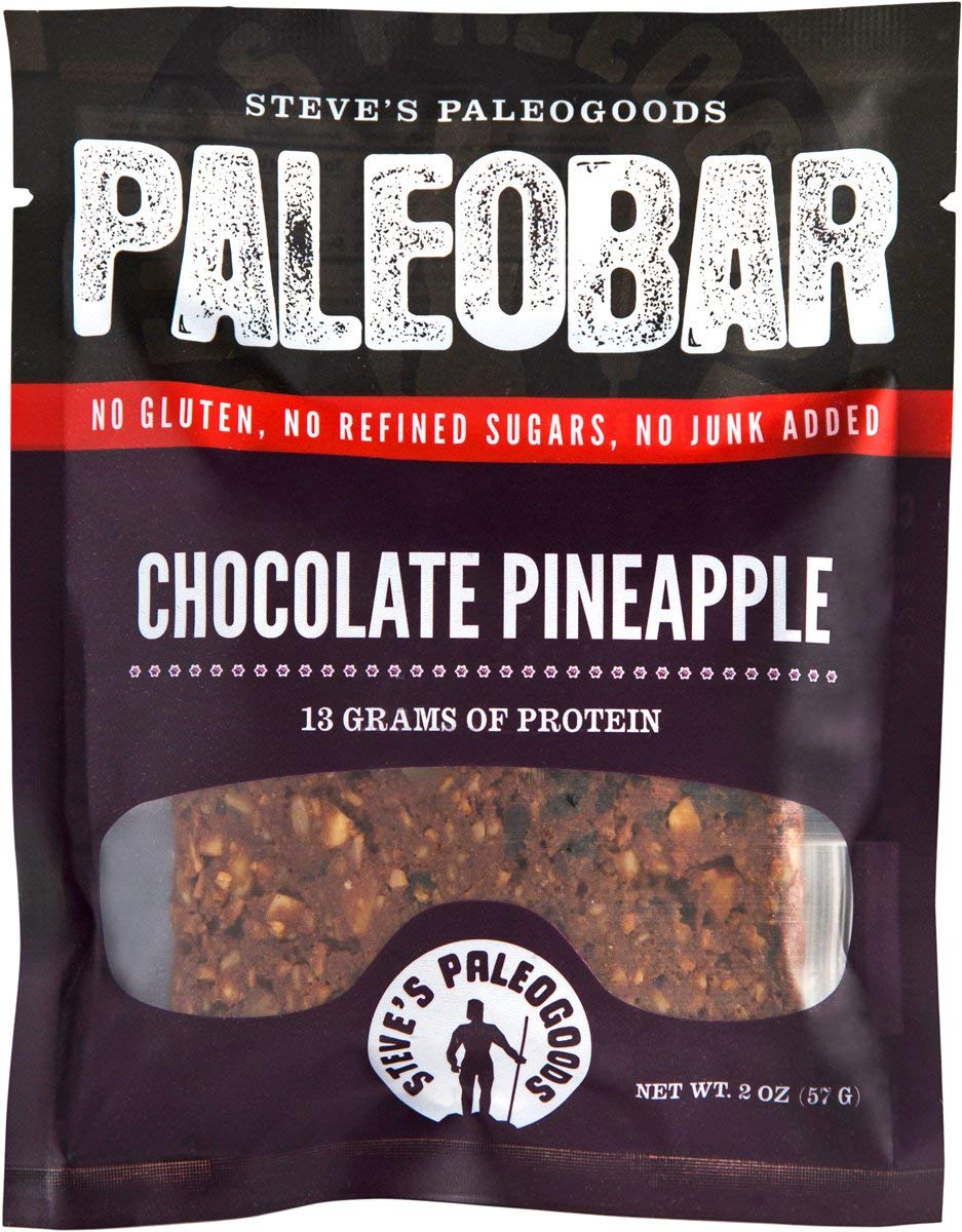 Steve's PaleoGoods, PaleoBar Chocolate Pineapple, 2 oz (Pack of 12) by Steve's PaleoGoods