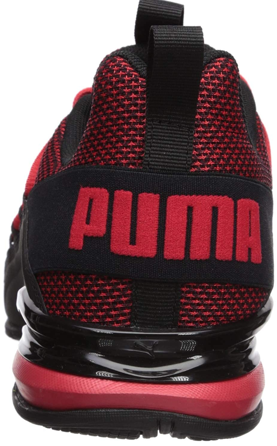 eaa4e50092c1c PUMA Men's Axelion Sneaker highriskred-Black 10 W US