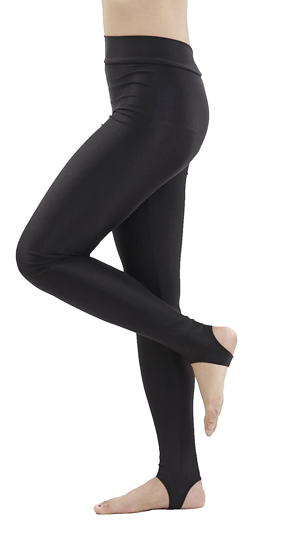 speerise Kids Girls Hight Waist Stirrup Ballet Workout Dance Leggings