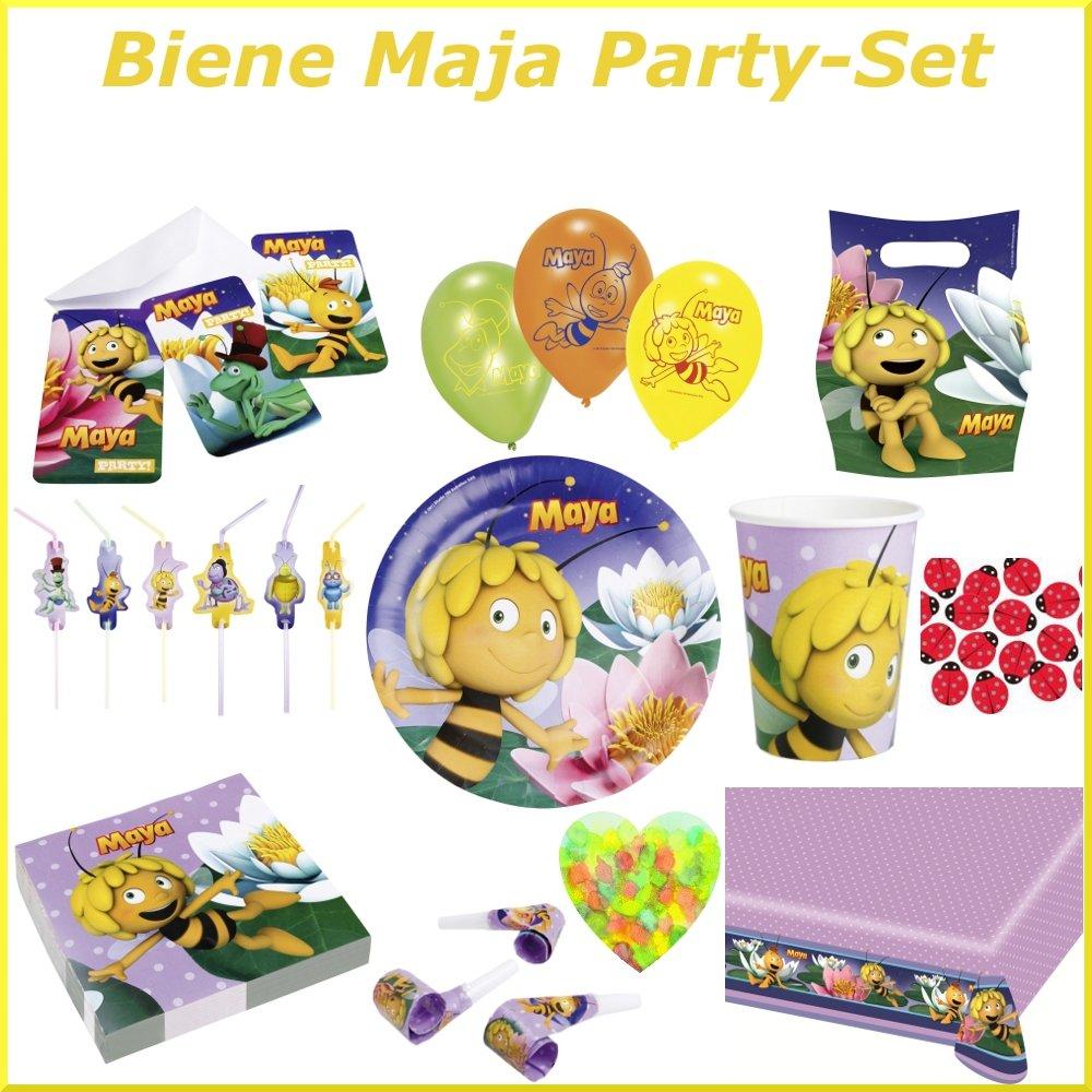 Amazon.de:Biene Maja Party Set (Mega Set Für Ihren Biene Maja  Kindergeburtstag)