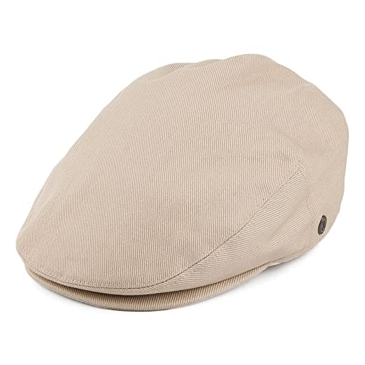 f026575b352 Lightweight Classic Cotton Ivy Newsboy Paperboy Flat Cap Hat with Fixed  Sizing and