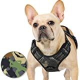 Rabbitgoo Dog Harness No Pull for Large Dogs, Easy Control Pet Vest Harness with 2 Leash Clips, Safe Reflective Dog Vest…
