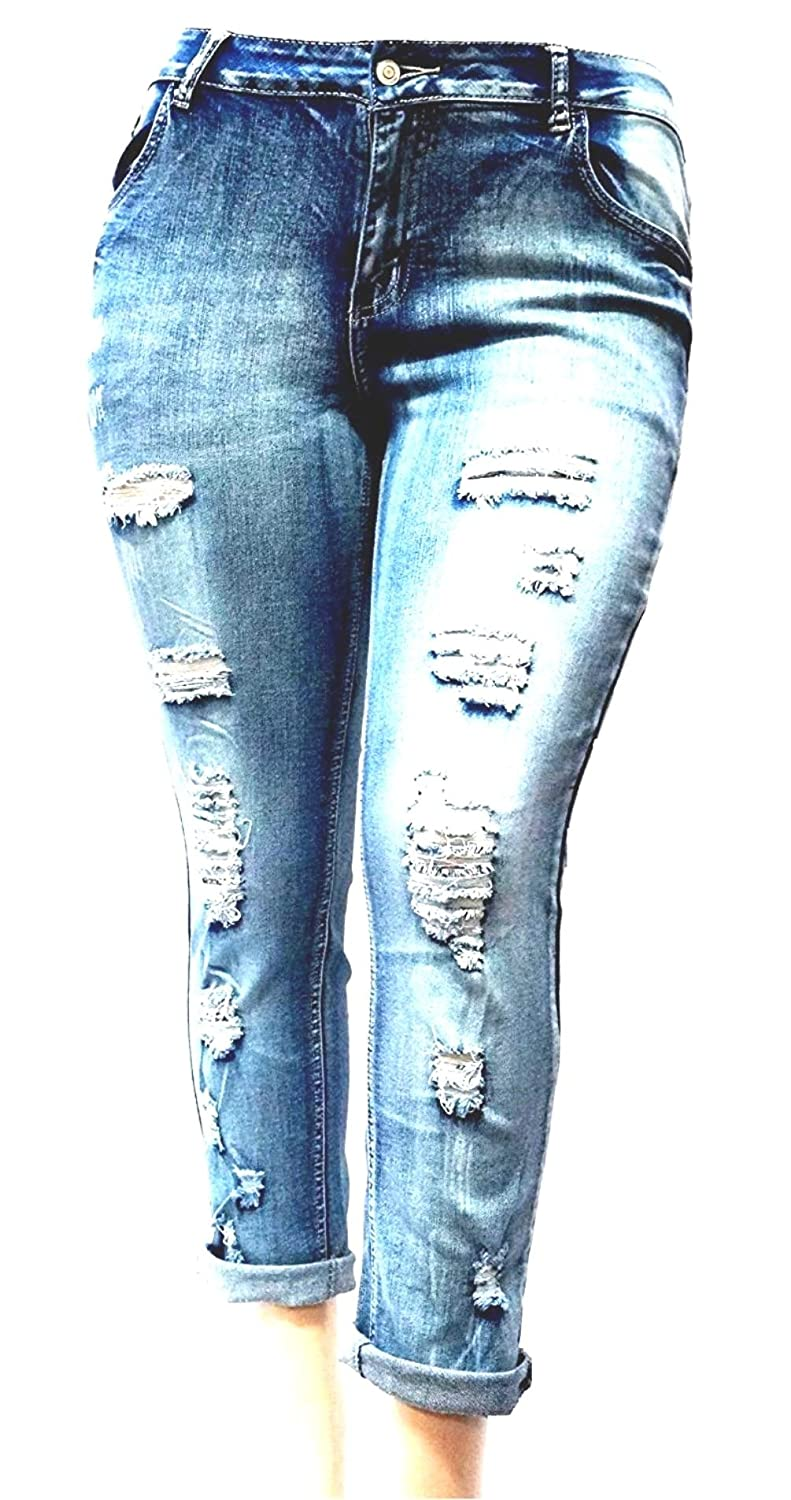 These PREMIUM denim Distressed jeans pants are comfortable and amazingly  versatile. Fabric- 76% cotton 22% POLYESTER 2% spandex Stretch 864af913c