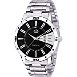 Limestone Analogue Black Dial Boys And Mens Watch-Ls2646